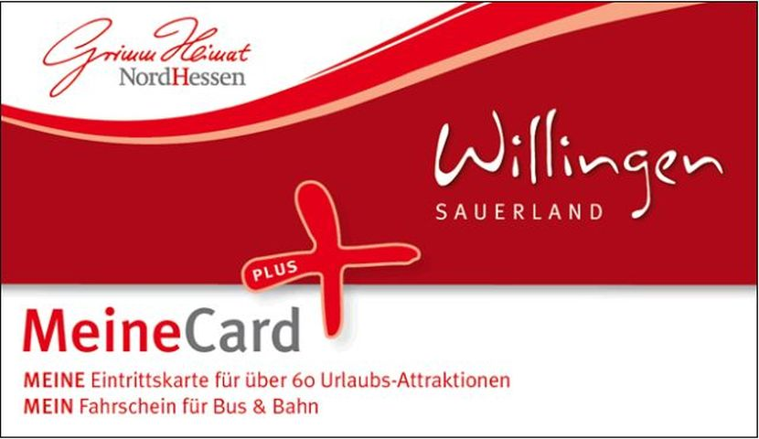 Meine Card Willingen plus